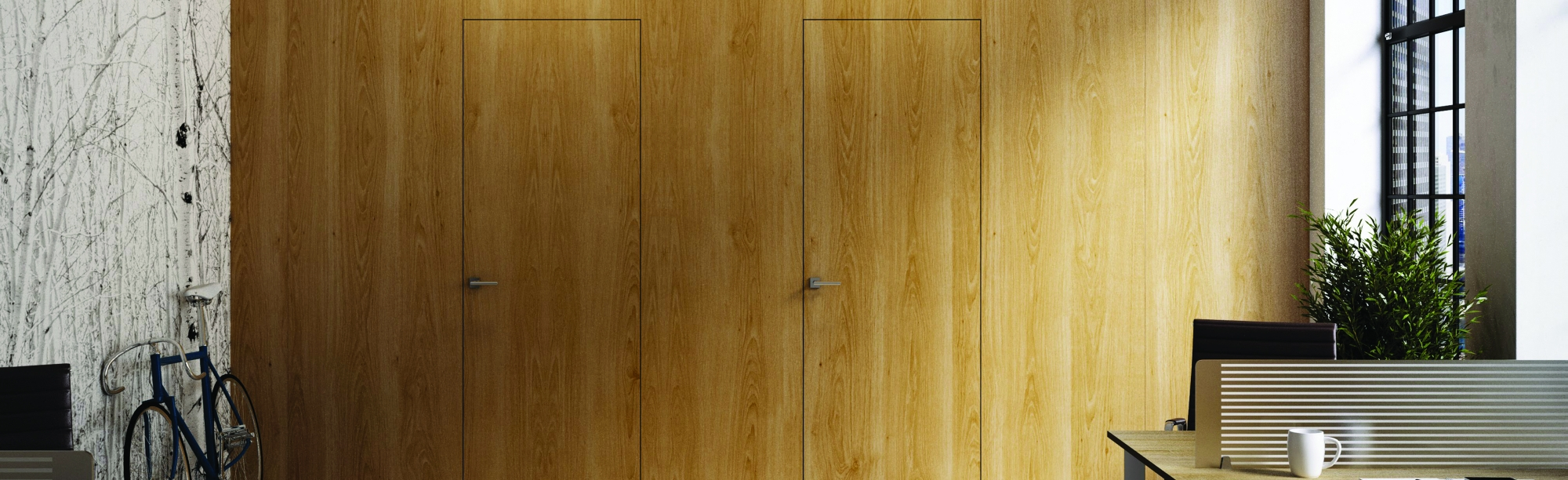 Falburkolatok és integrált ajtók